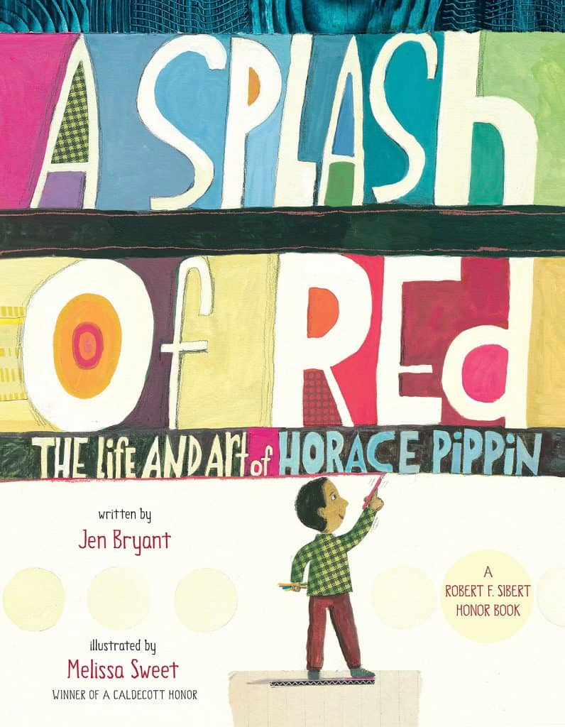Book cover of A Splash of Red.