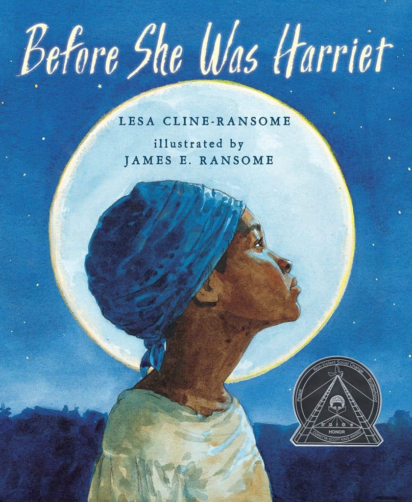 Book cover of Before She Was Harriet.
