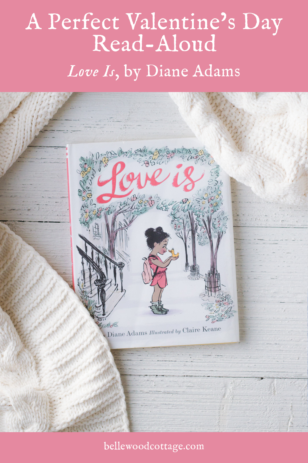 Cover view of Love Is by Diane Adams