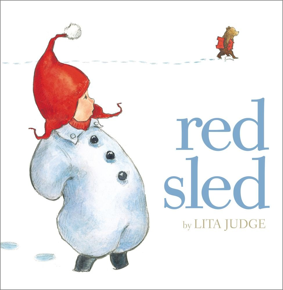 Book cover photo of Red Sled by Lita Judge.