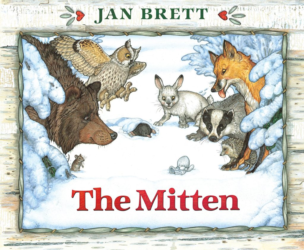 Book cover photo of the mitten.