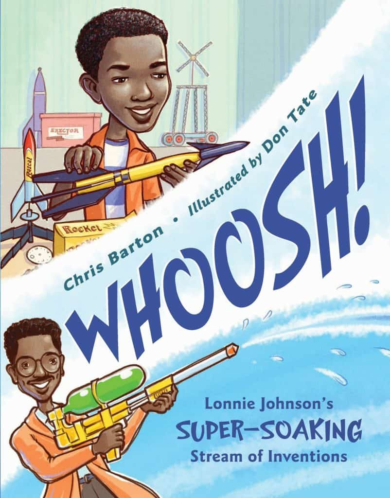 Cover of the picture book, Whoosh!