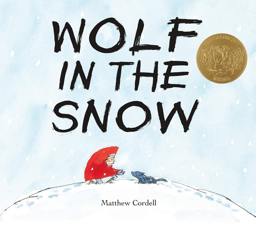 Wolf in the Snow - cover photo.