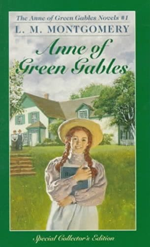 Anne of Green Gables book cover.