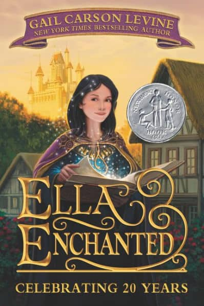 Ella Enchanted book cover.