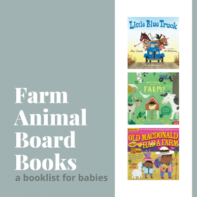 Collage Image of Farm Animal Board Books for Babies