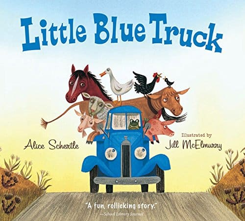 Book cover of Little Blue Truck