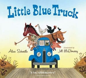 Little Blue Truck Book Cover.