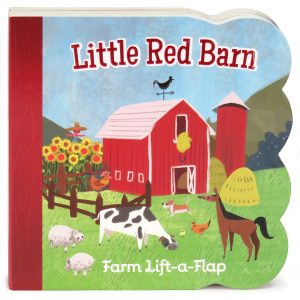 Little Red Barn book cover.