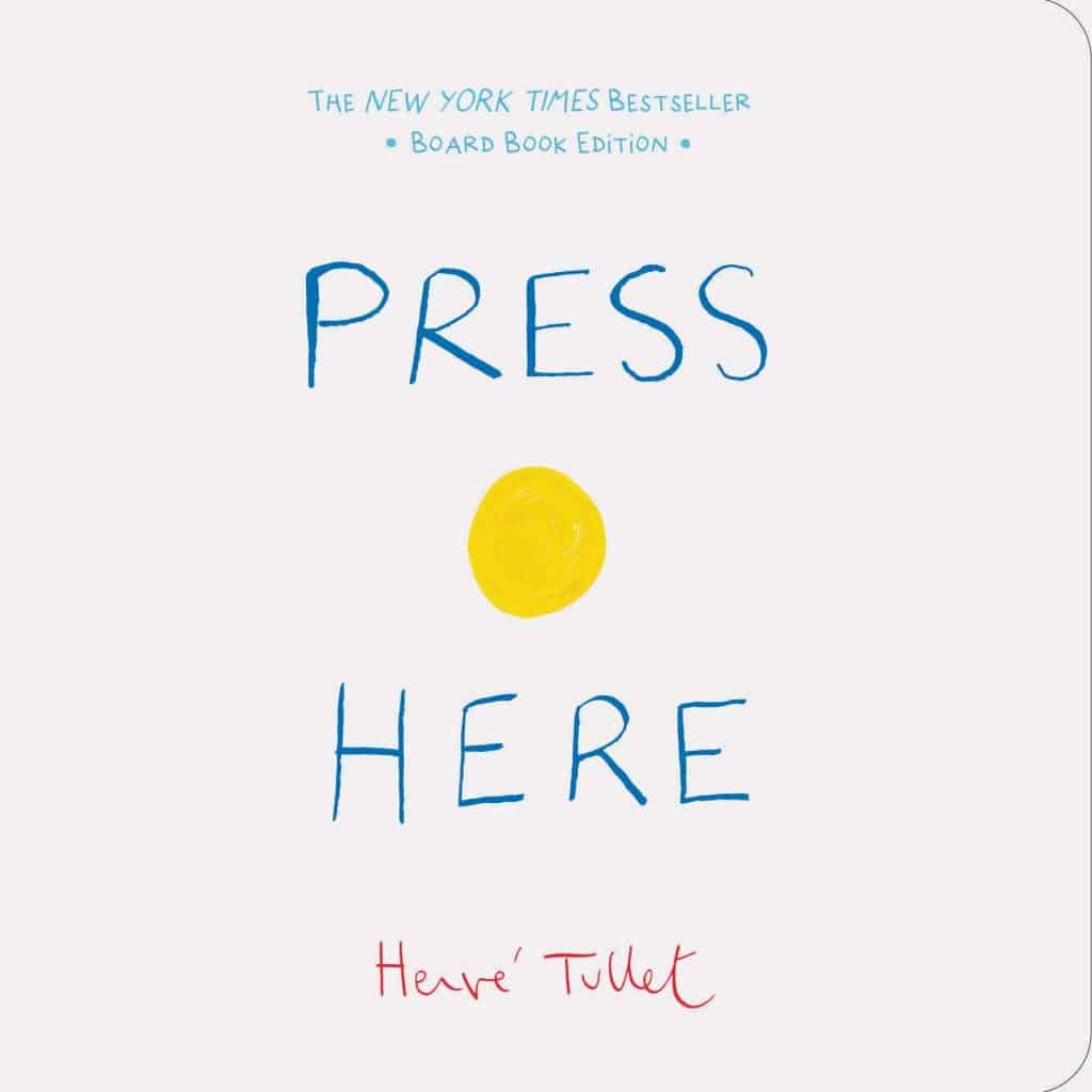 Book cover of Press Here.