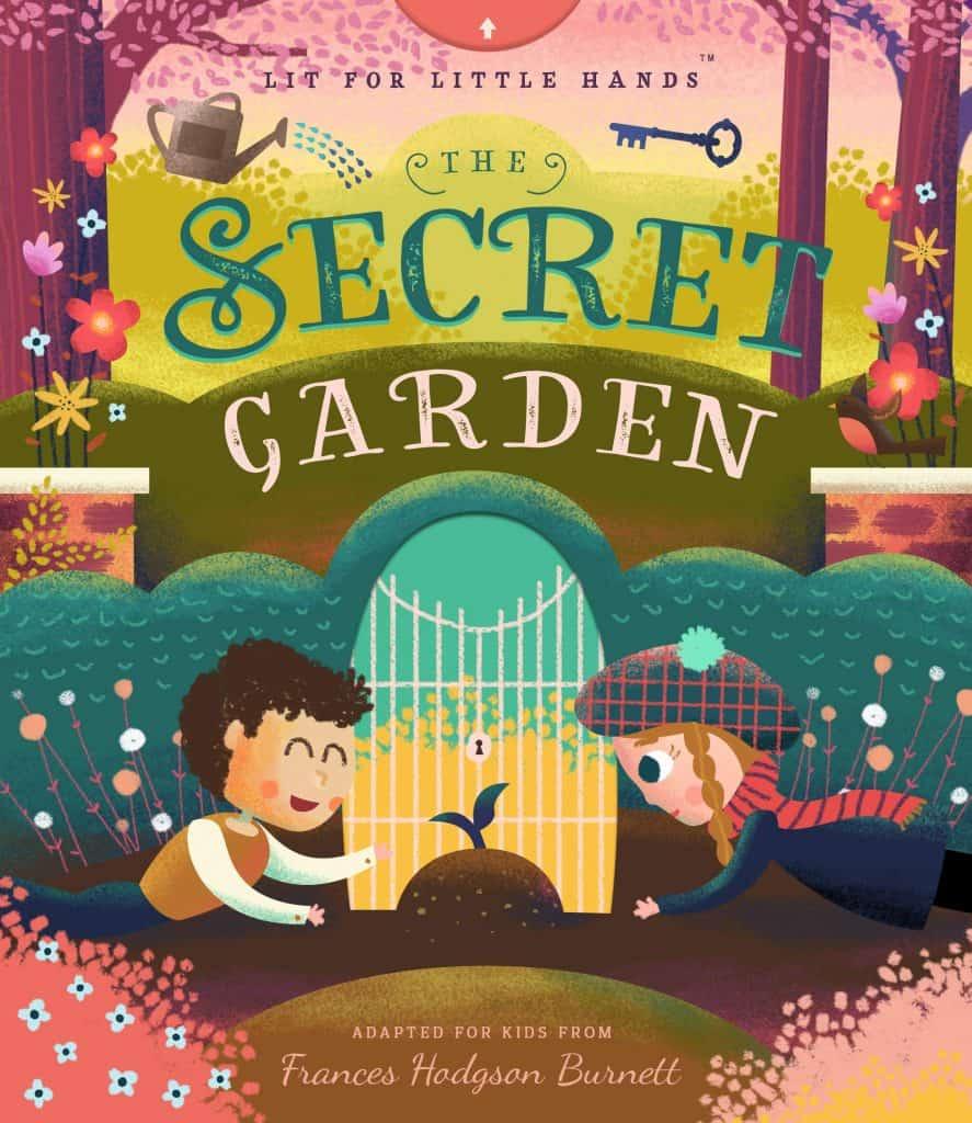 Lit for Little Hands: The Secret Garden book cover.