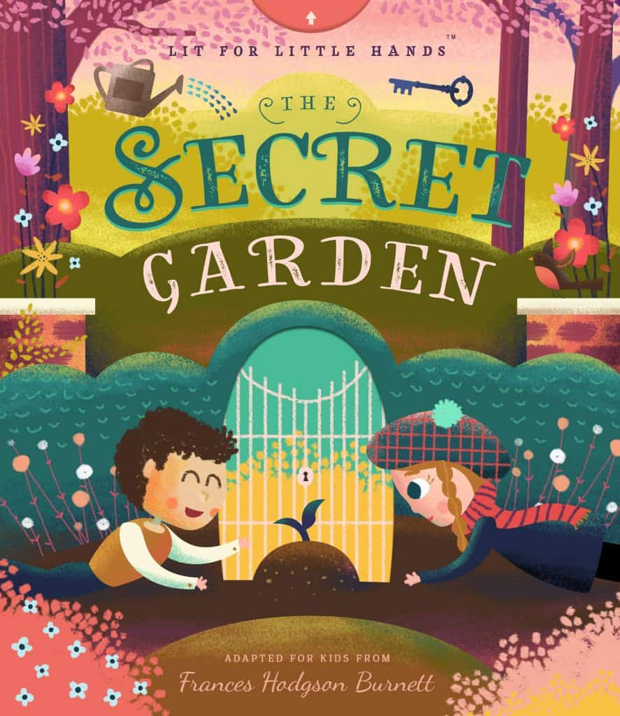 Lit for Little Hands Book Cover of the Secret Garden.