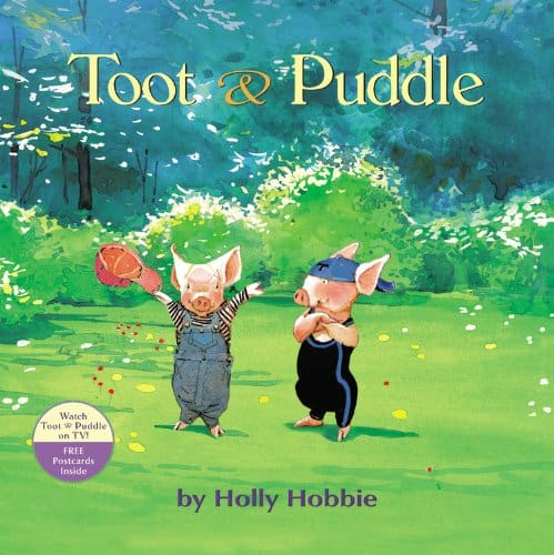 Toot and Puddle Book Cover