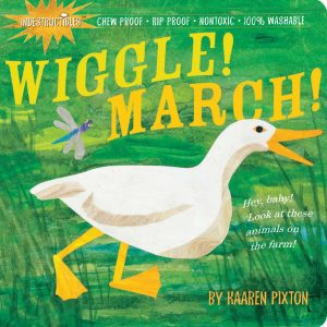 Wiggle! March! book cover.