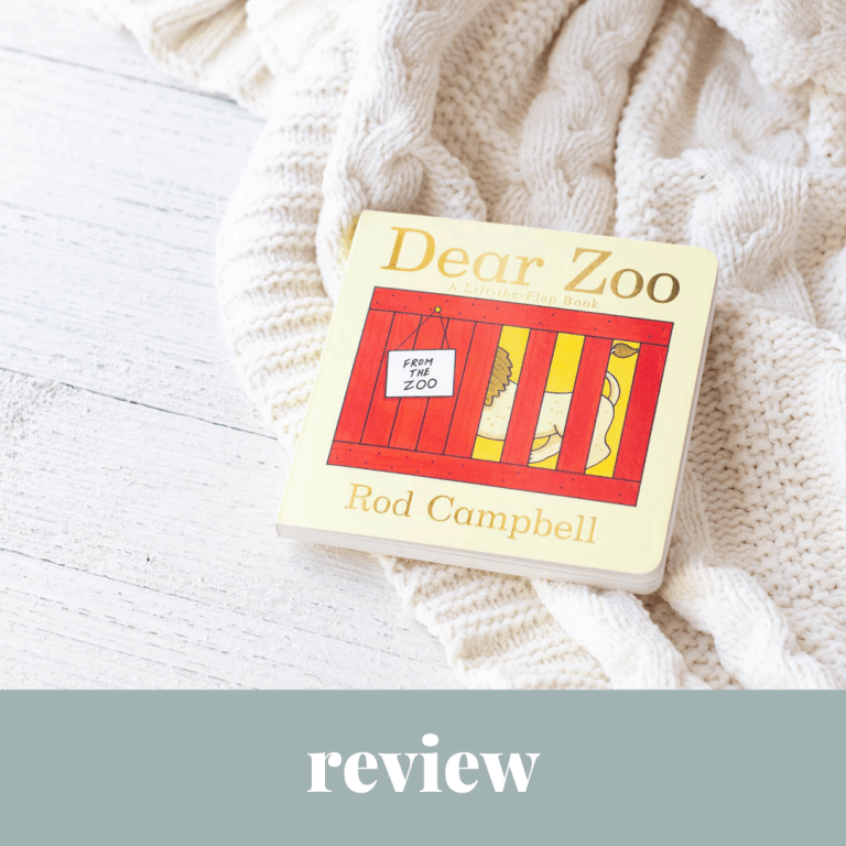 5 Reasons Why Your Baby Needs a Copy of Dear Zoo | Board Book Review