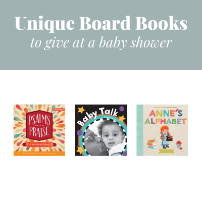 Three unique board book covers.