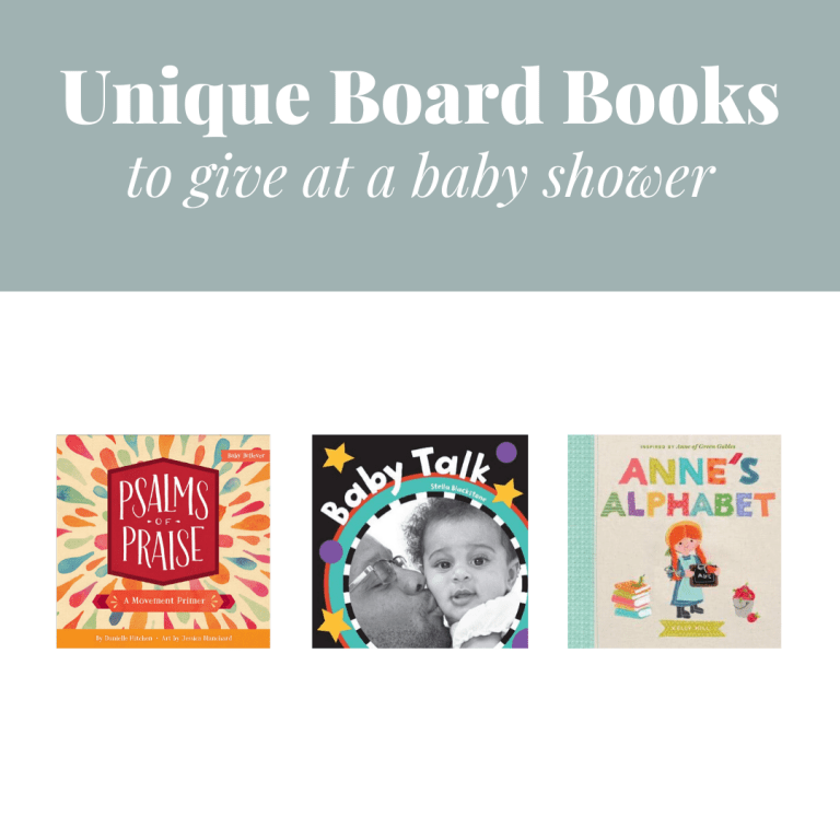 Unique Board Books to Give at a Baby Shower