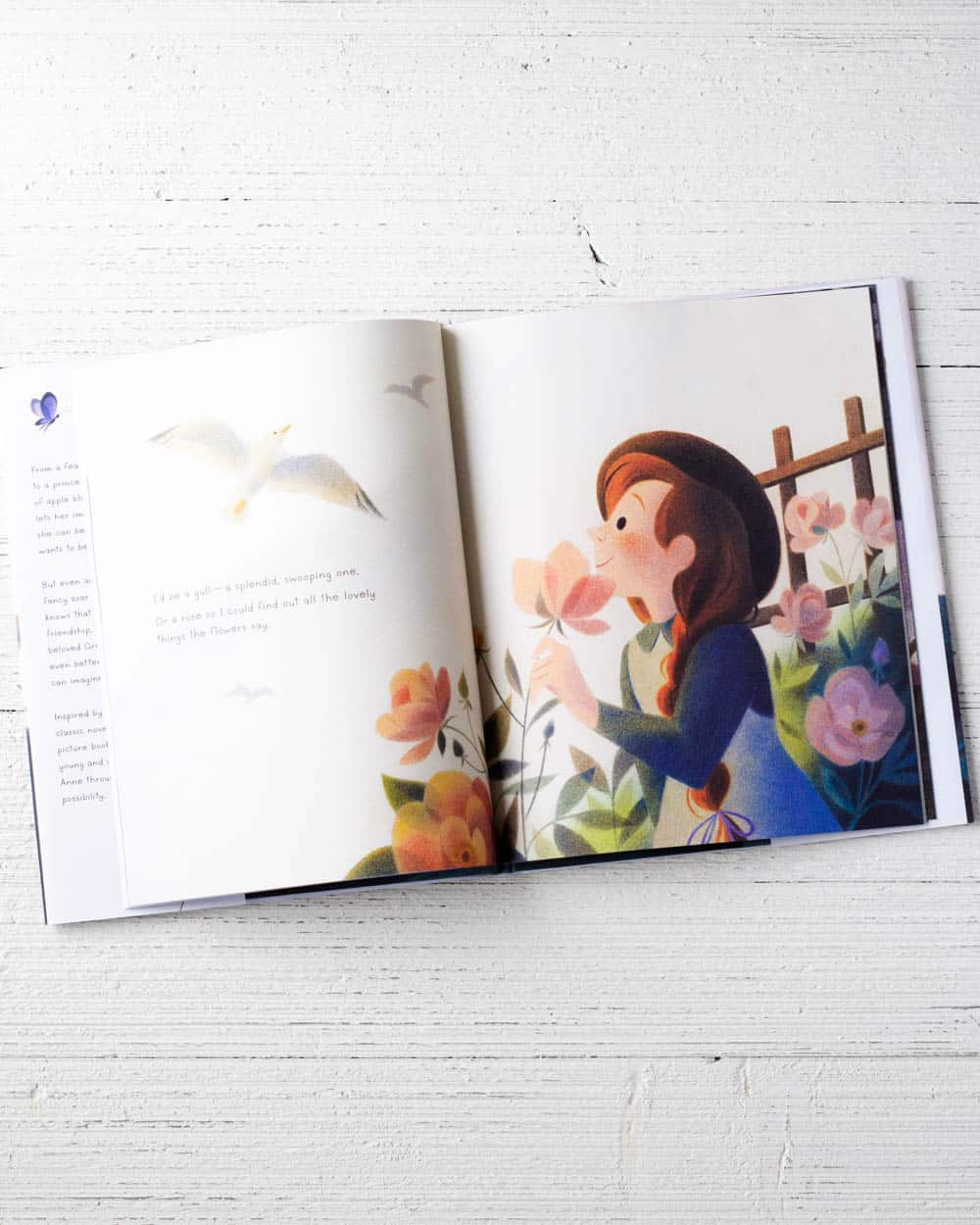 Interior pages of If I Couldn't Be Anne, a picture book.