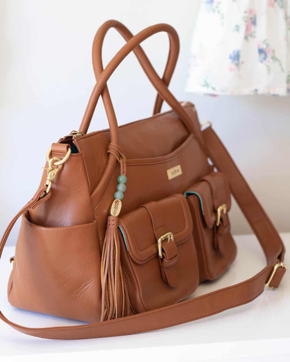Details on the Lily Jade Elizabeth Diaper Bag.