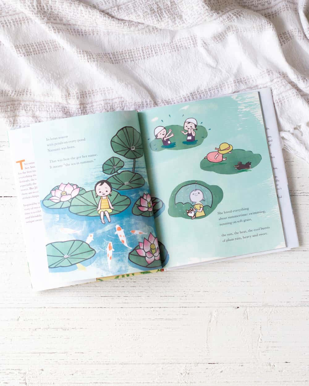 Natsumi's Song of a Summer, a kids' picture book.
