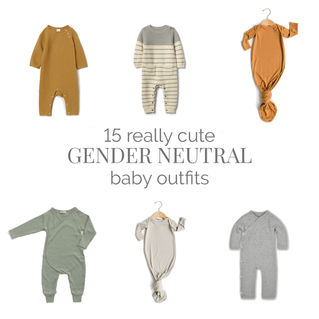 Really Cute Gender Neutral Baby Clothes - Bellewood Cottage