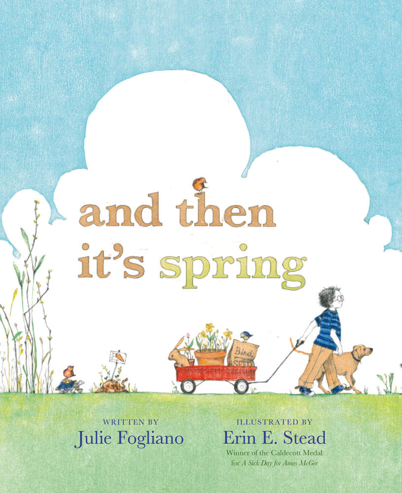 And Then It's Spring book cover.