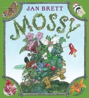 Mossy by Jan Brett, book cover.