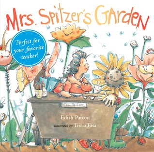 Mrs. Spitzer's Garden book cover - a favorite gardening picture book for kids.