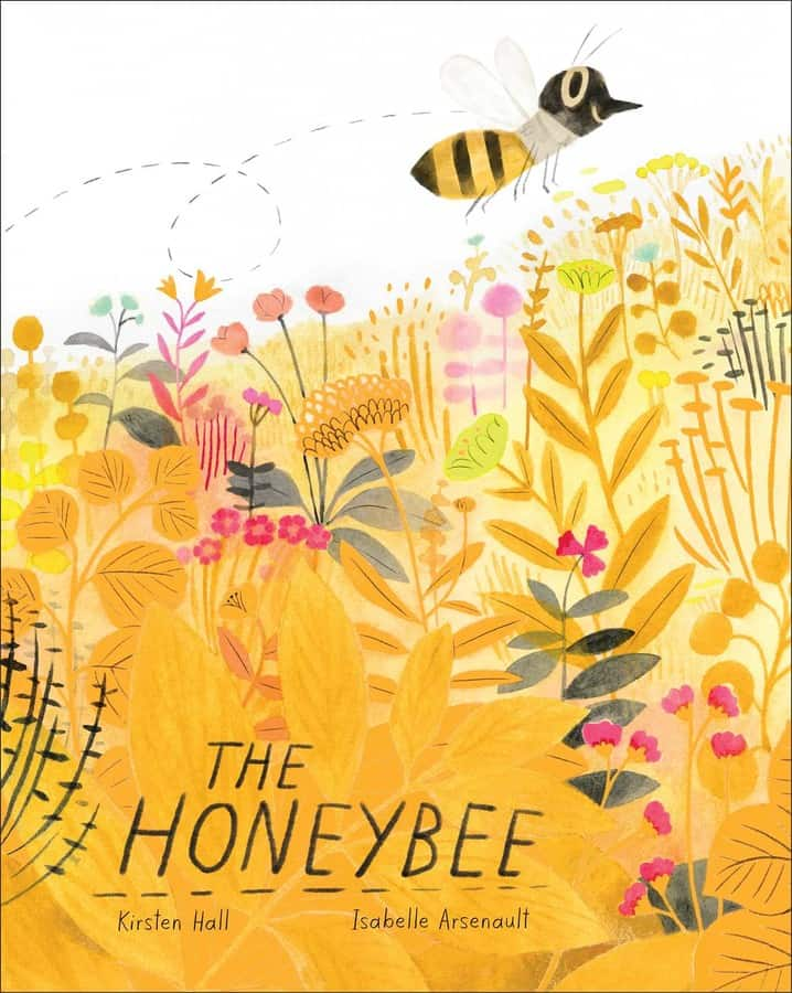 A favorite gardening picture book, The Honeybee.