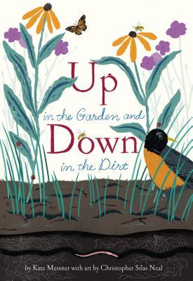 Up in the Garden Down in the Dirt book  cover.