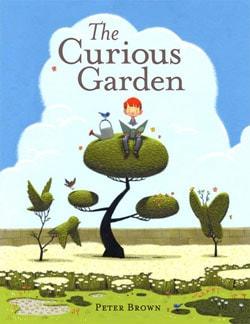 The Curious Garden book cover.