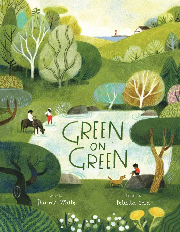 Green on Green book cover.