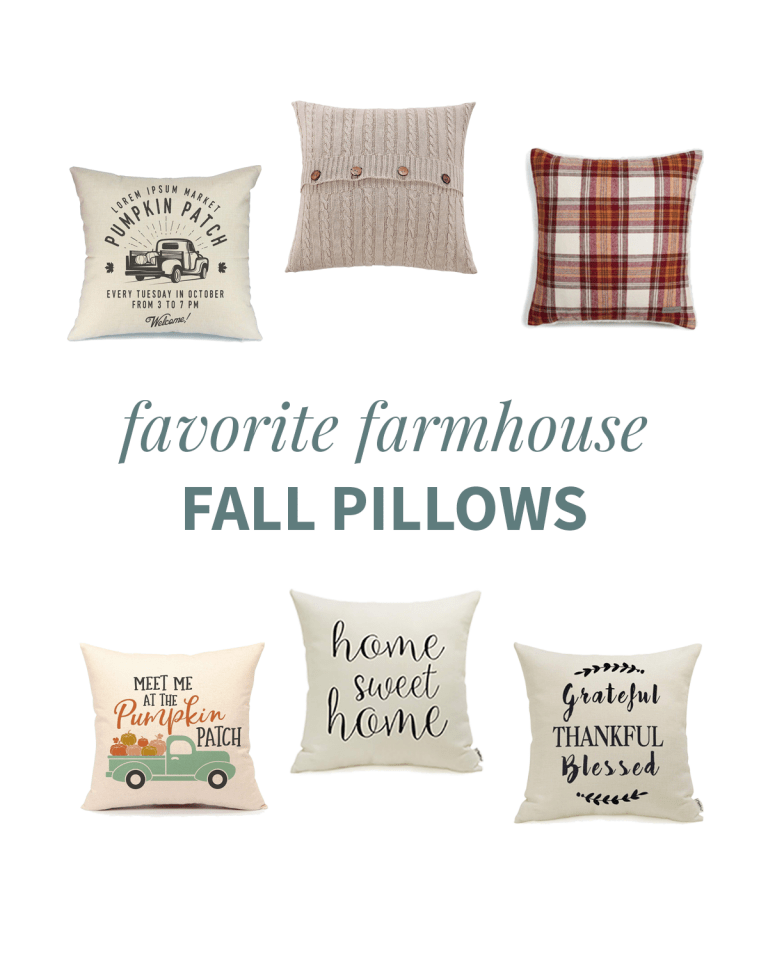 Favorite Fall Pillows and Pillow Covers