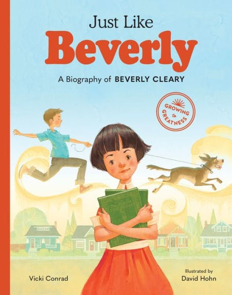 The cover of Just Like Beverly, a children's picture book biography.