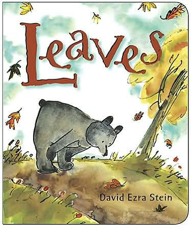 The cover of Leaves, by David Ezra Stein.