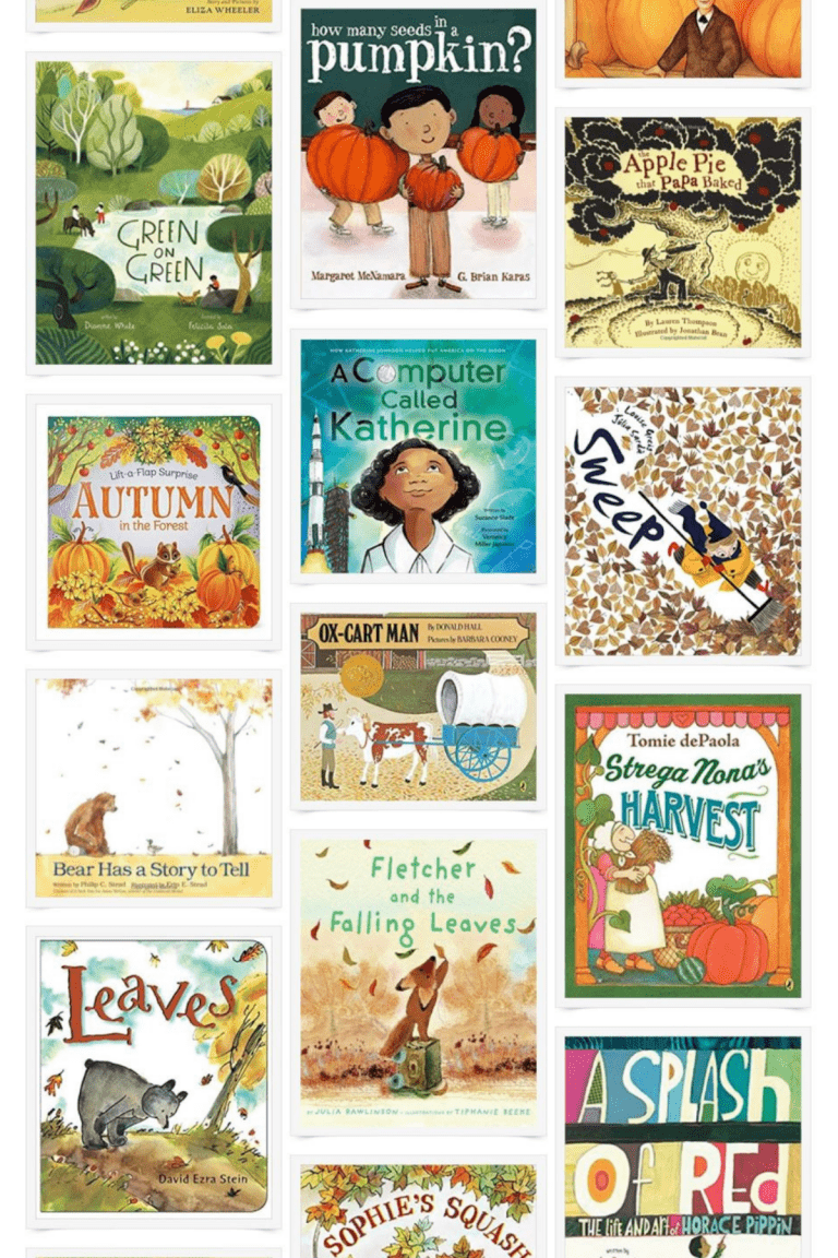 Cozy September Picture Books for Fall