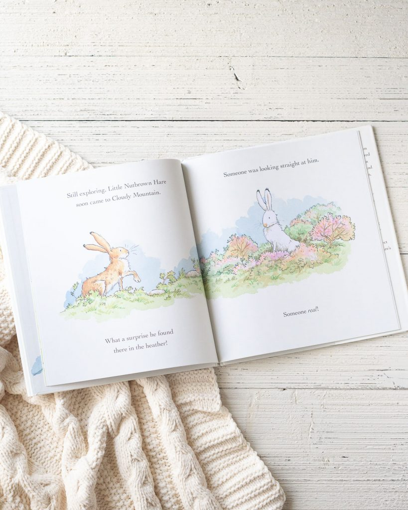 Inside pages of a children's book called, Will You Be My Friend?