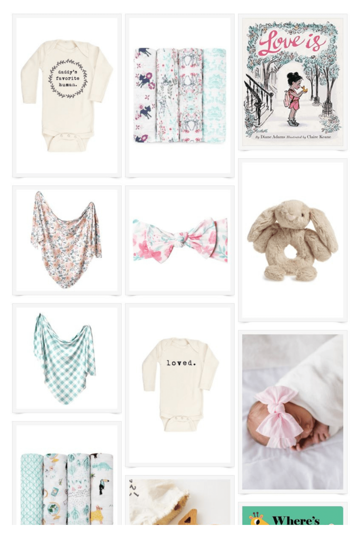 Favorite Gift Ideas for Babies 0-3 Months – Heirloom Gifts for Any Newborn