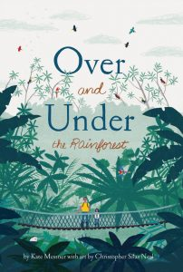 The cover of Over and Under the Pond, a children's picture book.