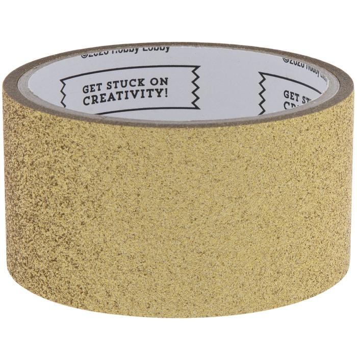 Gold Glitter Art Project Tape | Hobby Lobby | 1997691