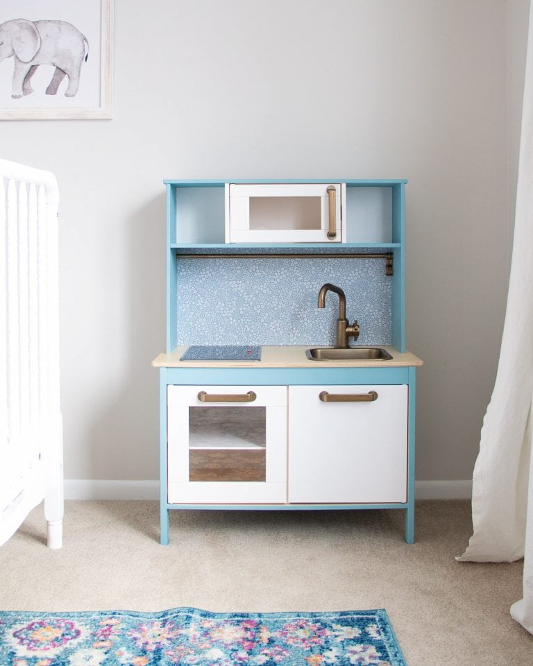 Ikea Play Kitchen Hack Tutorial + What You Should Know Before You Start!
