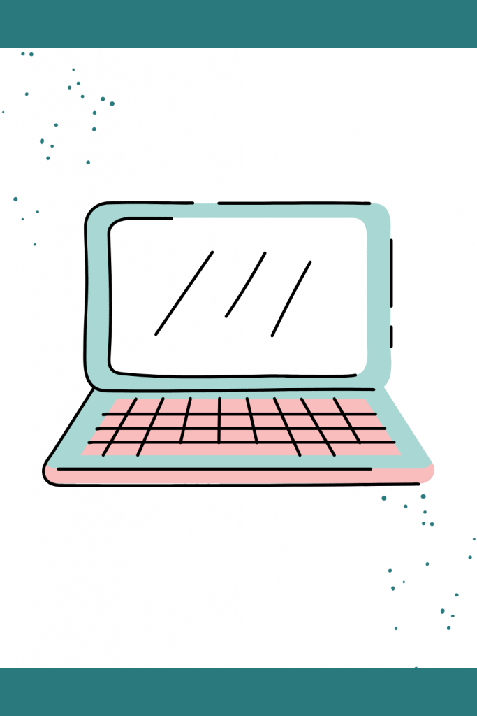 A small illustration of a computer.