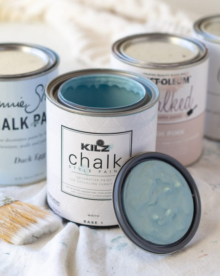 How to Save Money on Chalk Paint!