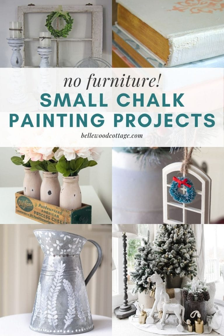 Small Chalk Paint Projects (That Aren't Furniture!)