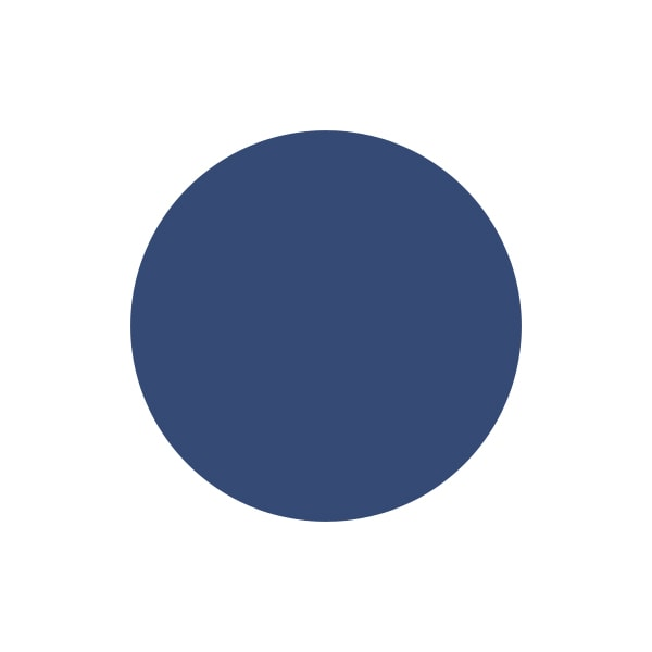 A paint swatch of Country Chic Paint Midnight Blue.