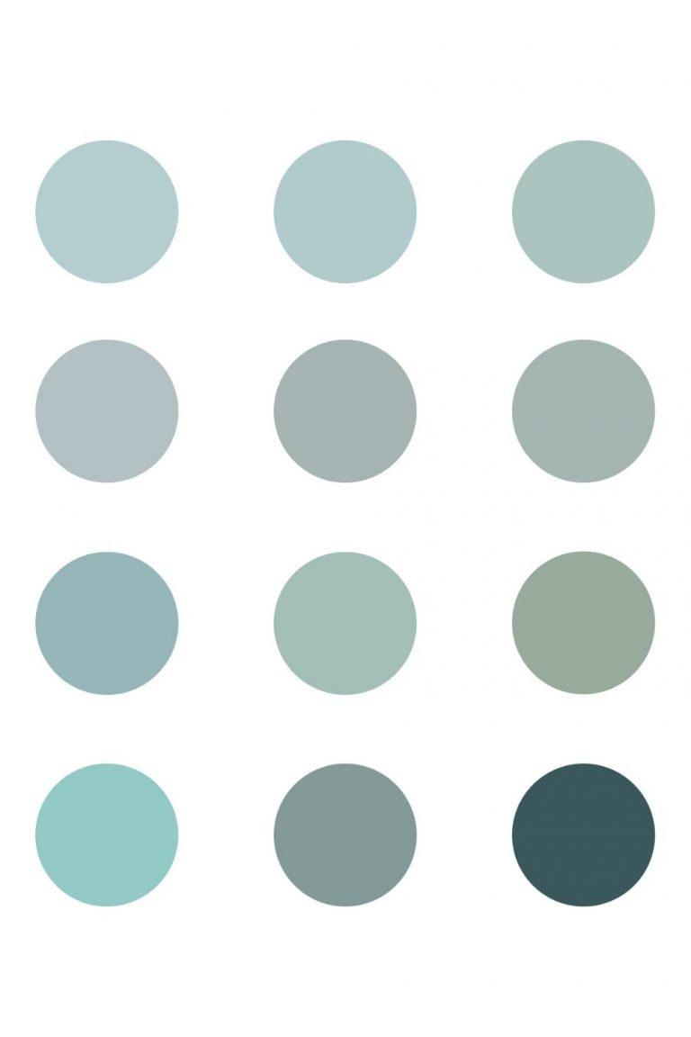 12 Inspiring Blue-Green Chalk Paint Colors