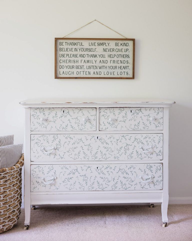 How to Paint a Dresser Step by Step