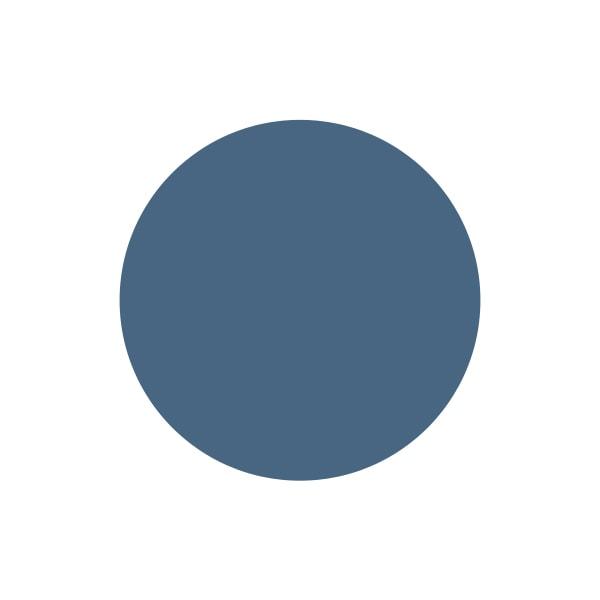 A paint swatch of Rust-Oleum Coastal Blue.