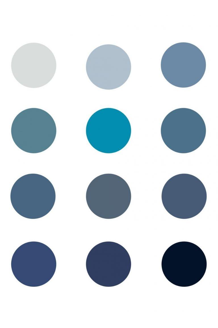 12 Captivating Blue Chalk Paint Colors